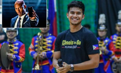 Tiebreaker Times Kiefer Ravena looks back on most memorable meeting with 'hero' Kobe Basketball News PBA  PBA Season 45 NLEX Road Warriors Kobe Bryant Kiefer Ravena