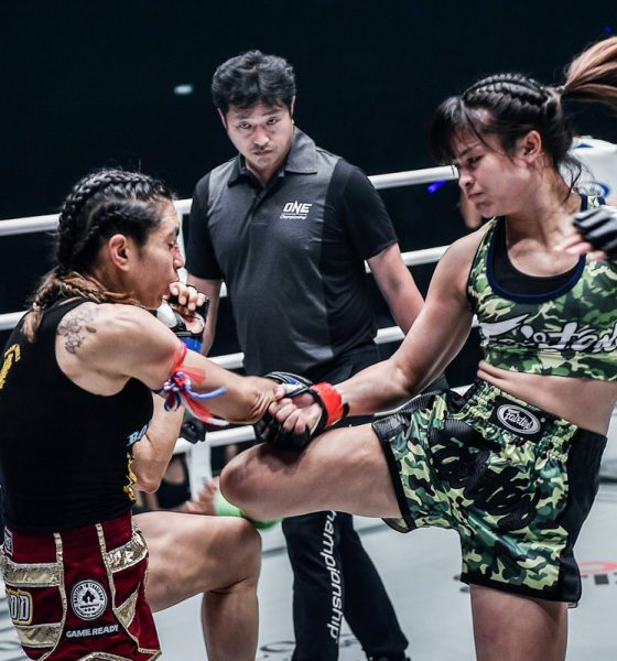 Tiebreaker Times Stamp expects a tougher Janet Todd come ONE: King of the Jungle Muay Thai News ONE Championship  Stamp Fairtex ONE: King of the Jungle Janet Todd