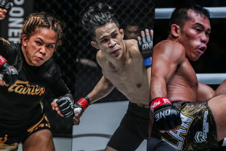Tiebreaker Times Three Filipino athletes who would conquer ONE in 2020 Mixed Martial Arts News ONE Championship  Robin Catalan Jeremy Miado Denice Zamboanga