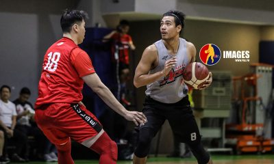 Tiebreaker Times Barkley Eboña working with Ildefonso, TDLC ahead of Alaska debut Basketball News PBA  PBA Season 45 Jeffrey Cariaso Barkley Ebona Alaska Aces