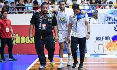 Tiebreaker Times Gab Banal hopeful for Game Two return Basketball MPBL News  Gab Banal Chris Gavina Bacoor Strikers 2019-20 MPBL Lakan Cup