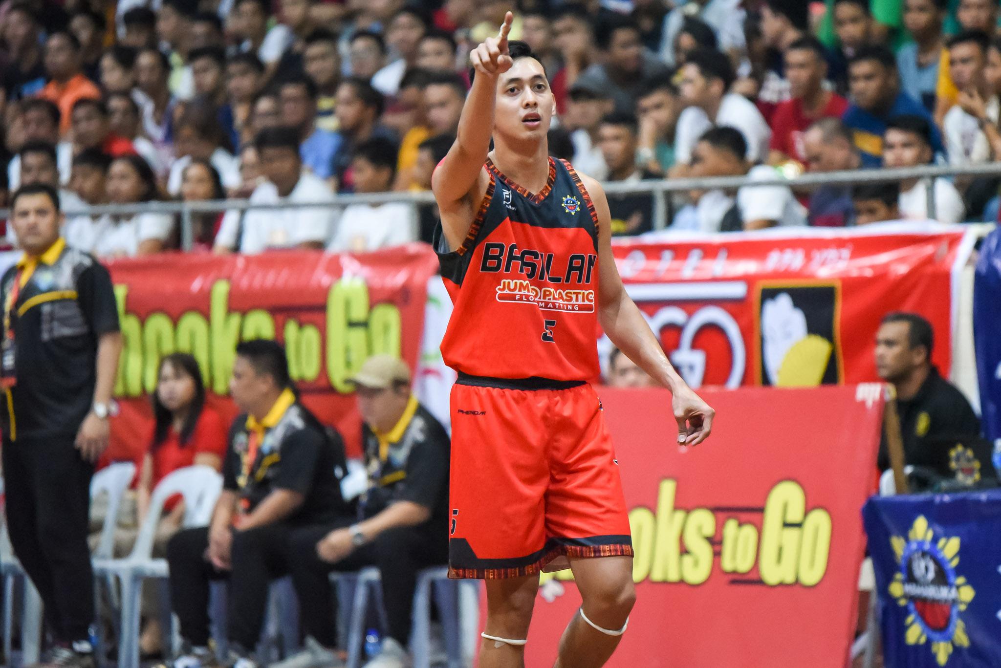 Tiebreaker Times Allyn Bulanadi gives back on 23rd birthday Basketball MPBL News  Coronavirus Pandemic Basilan Steel Allyn Bulanadi 2019-20 MPBL Lakan Cup