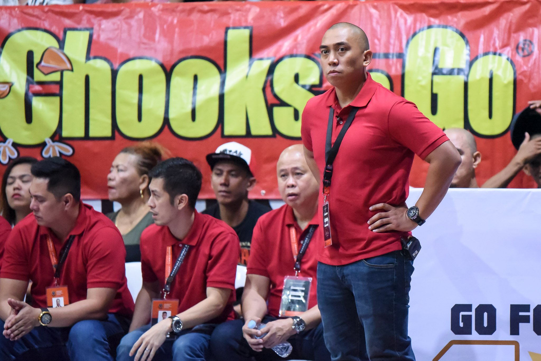 Tiebreaker Times With Davao Occi practice suspended, Don Dulay reminds Tigers to focus on families Basketball MPBL News  Don Dulay Davao Occidental Tigers 2019-20 MPBL Lakan Cup