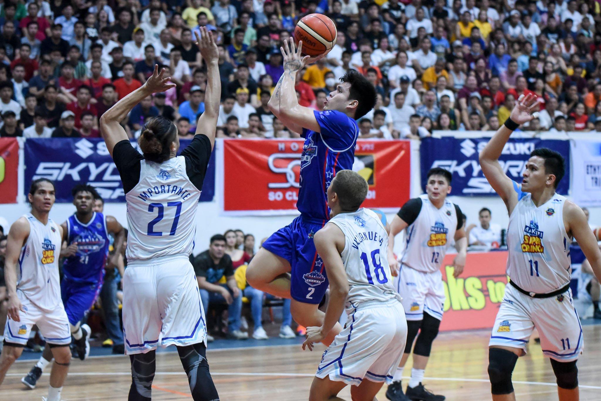 Tiebreaker Times Carlo Lastimosa vows to go all out in Game 3: 'Bibigay ko na yung lahat' Basketball MPBL News  Manila Stars Carlo Lastimosa 2019-20 MPBL Lakan Cup