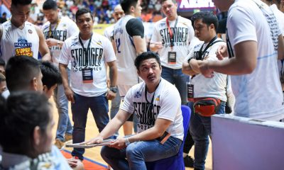 Tiebreaker Times Makati Super Crunch to play in enemy territory anew in Game Two Basketball MPBL News  Makati Super Crunch Go for Gold-San Juan Knights 2019-20 MPBL Lakan Cup