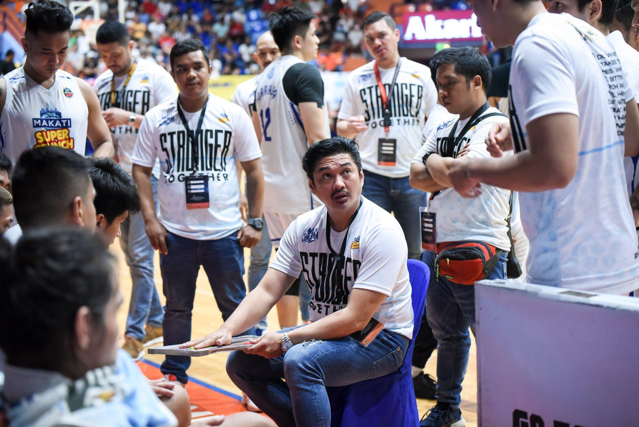 Tiebreaker Times Makati coach Beaujing Acot gives back through PYD Cares Basketball MPBL News  Rhuel Acot Makati Super Crunch Coronavirus Pandemic 2019-20 MPBL Lakan Cup