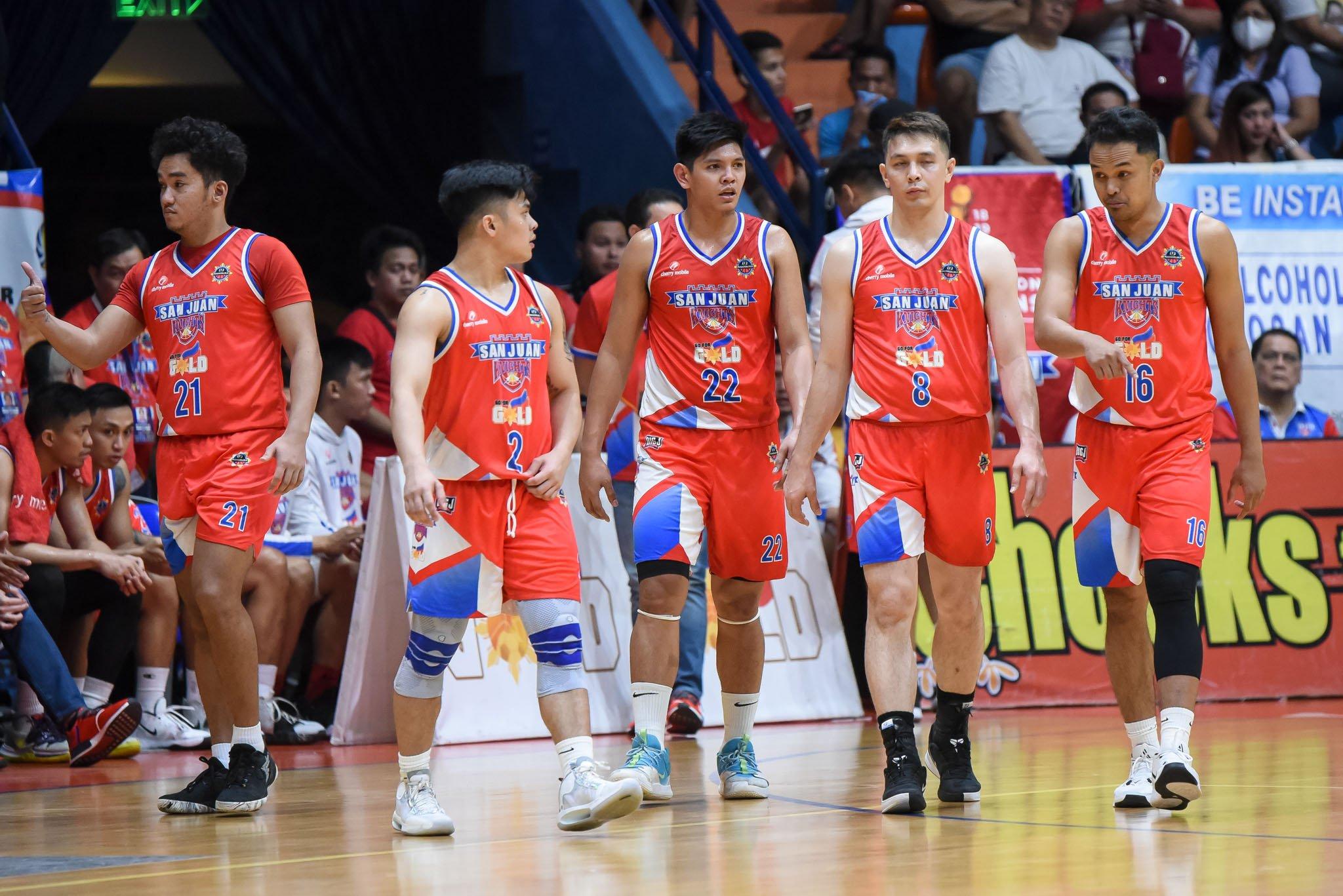 Tiebreaker Times Randy Alcantara sticks to silver-linings as San Juan heads to do-or-die Basketball MPBL News  Randy Alcantara Go for Gold-San Juan Knights 2019-20 MPBL Lakan Cup