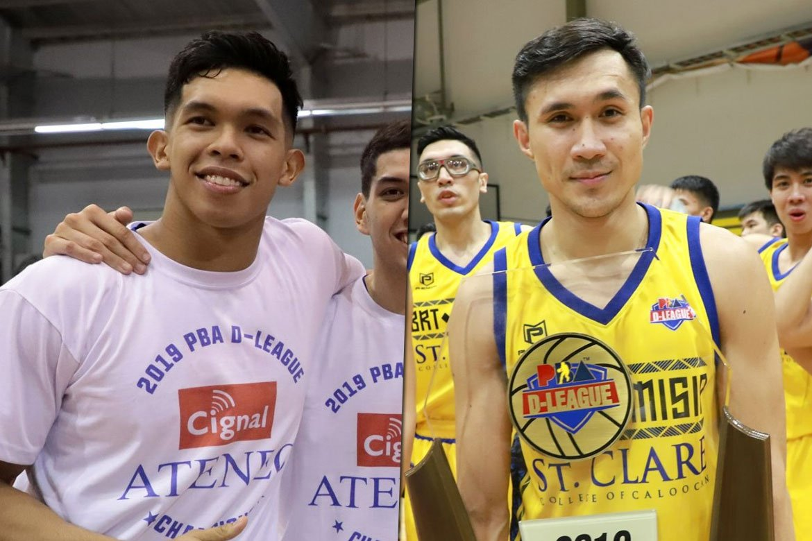 Tiebreaker Times Thirdy Ravena, Hesed Gabo to be honored during PBA PC Awards Night ADMU Basketball News PBA D-League  Thirdy Ravena PBA Season 44 Press Corps Awards Night Leo Gabo 2019 PBA D-League Second Conference 2019 PBA D-League Season 2019 PBA D-League