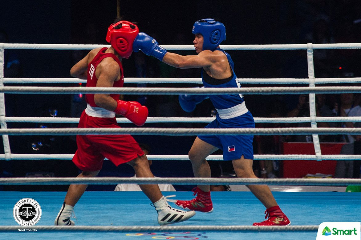 Tiebreaker Times Riza Pasuit succumbs to Chinese foe, drops out of OQT 2020 Tokyo Olympics Boxing News  Riza Pasuit 2020 Asia and Oceania Olympic Boxing Qualifiers