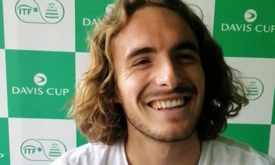 Tiebreaker Times World no. 6 Stefanos Tsitsipas ready to put on show in PH Davis Cup News Tennis  Stefanos Tsitsipas Greece (Tennis) 2020 Davis Cup