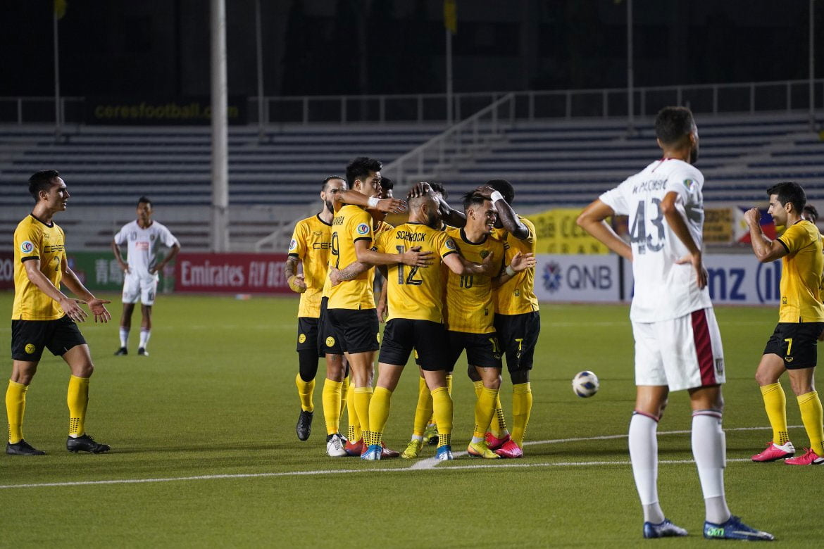 Tiebreaker Times Marañon scores brace as Ceres routs Bali United to go top of AFC Cup Group G AFC Cup Football News PFL  Stephan Schrock Robert Lopez Mendy Risto Vidakovic OJ Porteria Ceres-Negros FC Bienvenido Marañon Bali United 2020 AFC Cup