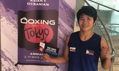 Tiebreaker Times Second Time's the Charm: Irish Magno punches Olympic ticket 2020 Tokyo Olympics Boxing News  Irish Magno carlo paalam 2020 Asia-Oceania Olympic Qualification Tournament