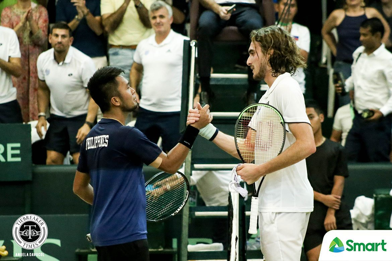 2020-davis-cup-stefan-tsitsipas-def-jeson-patrombon Stefanos Tsitsipas on PH Tennis: 'It can be like Greece' Davis Cup News Tennis  - philippine sports news