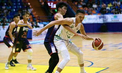 Tiebreaker Times New-look EcoOil-La Salle overpowers Wangs-Letran to open D-League campaign Basketball CSJL DLSU News PBA D-League  Wangs-Letran Knights Kenny Rogers Rocacurva Justine Baltazar Joshua David Fran Yu Encho Serrano Bonnie Tan Ato Ular Allen Mina Aljun Melecio 2020 PBA D-League Season 2020 PBA D-League Aspirants Cup