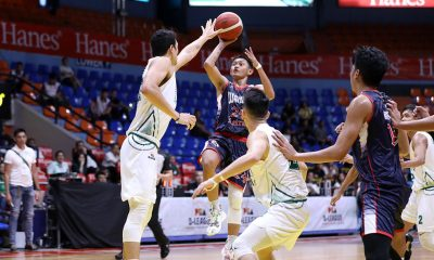Tiebreaker Times Derrick Pumaren proud to see Fran Yu fulfill his potential Basketball CSJL DLSU News PBA D-League  Wangs-Letran Knights Fran Yu Eco Oil-DLSU Green Archers Derrick Pumaren 2020 PBA D-League Season 2020 PBA D-League Aspirants Cup