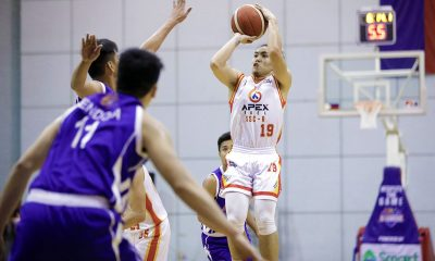 Tiebreaker Times APEX-San Sebastian deals AMA High 46-point beatdown in D-League Basketball News PBA D-League SSC-R  RK Ilagan Reed Baclig Mark Herrera Luke Parcero Ichie Altamirano Egay Macaraya APEX Fuel Mindanao-San Sebastian Golden Stags AMA Online Education High School Kings 2020 PBA D-League Season 2020 PBA D-League Aspirants Cup