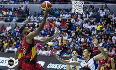 Tiebreaker Times Mo Tautuaa proves why he is Most Improved Player Basketball News PBA  San Miguel Beermen PBA Season 45 Mo Tautuaa 2020 PBA Philippine Cup 2019 PBA Leo Awards