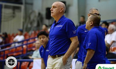 Tiebreaker Times Tab Baldwin back on the sidelines for Ateneo ADMU Basketball News  Tab Baldwin Ateneo Men's Basketball 2020 PCCL National Championship