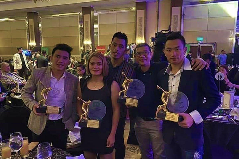 Tiebreaker Times Joshua Pacio, Team Lakay shine in PSA Awards Mixed Martial Arts News ONE Championship  Team Lakay Joshua Pacio Jerry Olsim Gina Iniong 2020 PSA Awards