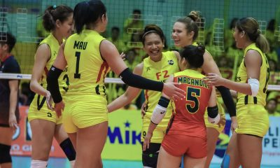 Tiebreaker Times Mau-Stalzer duo a blockbuster as F2 Logistics pounds PLDT in PSL GP News PSL Volleyball  Roger Gorayeb Ramil De Jesus PLDT Home Fibr Power Hitters Majoy Baron Maeve Orle Lindsay Stalzer Kalei Mau F2 Logistics Cargo Movers 2020 PSL Season 2020 PSL Grand Prix