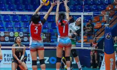 Tiebreaker Times Another Cutura explosion goes for naught as Sta. Lucia goes to 2-0 in PSL GP News PSL Volleyball  Vilet Ponce-De Leon Sta. Lucia Lady Realtors Shainah Joseph Royse Tubino MJ Phillips Marinerang Pilipina Hana Cutura Eddieson Orcullo 2020 PSL Season 2020 PSL Grand Prix