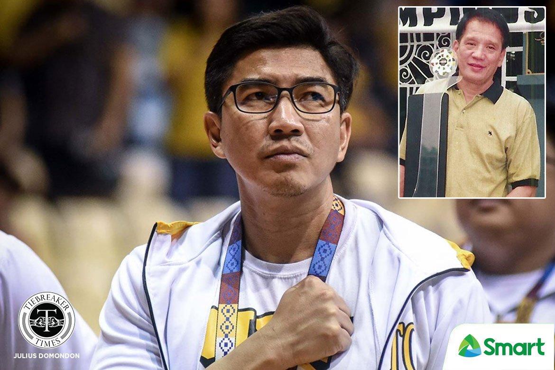 Tiebreaker Times Aldin Ayo on Aric Del Rosario: 'Malaki ang impact niya sa akin' Basketball News UST  UST Men's Basketball Aric del Rosario Aldin Ayo