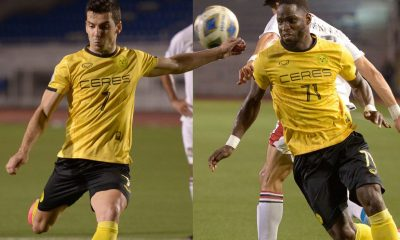 Tiebreaker Times Bills seek naturalization of Ceres-Negros' Maranon, Lopez Mendy Football News PFL Philippine Azkals  Robert Lopez Mendy Miguel Zubiri Bienvenido Marañon
