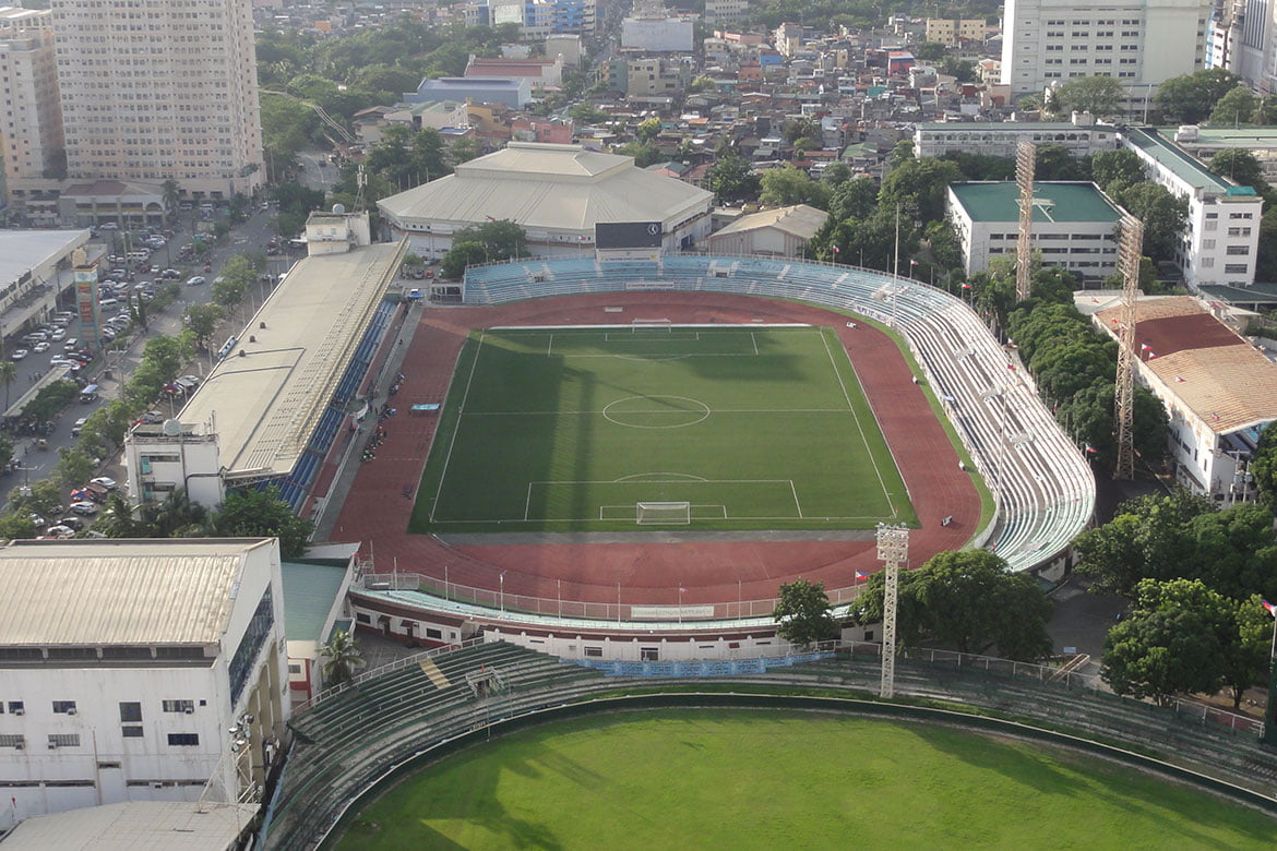 FILE-PHOTO-Rizal-Memorial-Football-Stadium PSC opens Rizal Memorial, PhilSports as temporary medical facilities News POC/PSC  - philippine sports news
