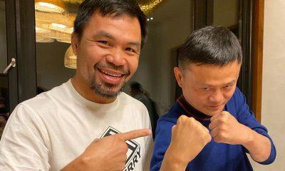 Tiebreaker Times Pacquiao, billionaire pal Jack Ma donate 700K facemasks, 50K testing kits Boxing MPBL News  Manny Pacquiao Coronavirus Pandemic
