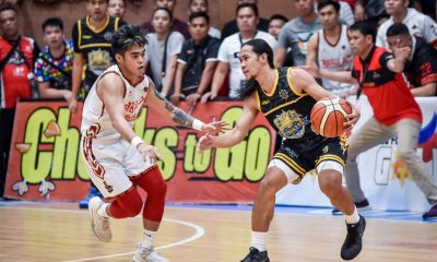 Tiebreaker Times Ian Melencio has no regrets after Bacoor's do-or-die game Basketball MPBL News  ian melecio Chris Gavina Bacoor Strikers 2019-20 MPBL Lakan Cup