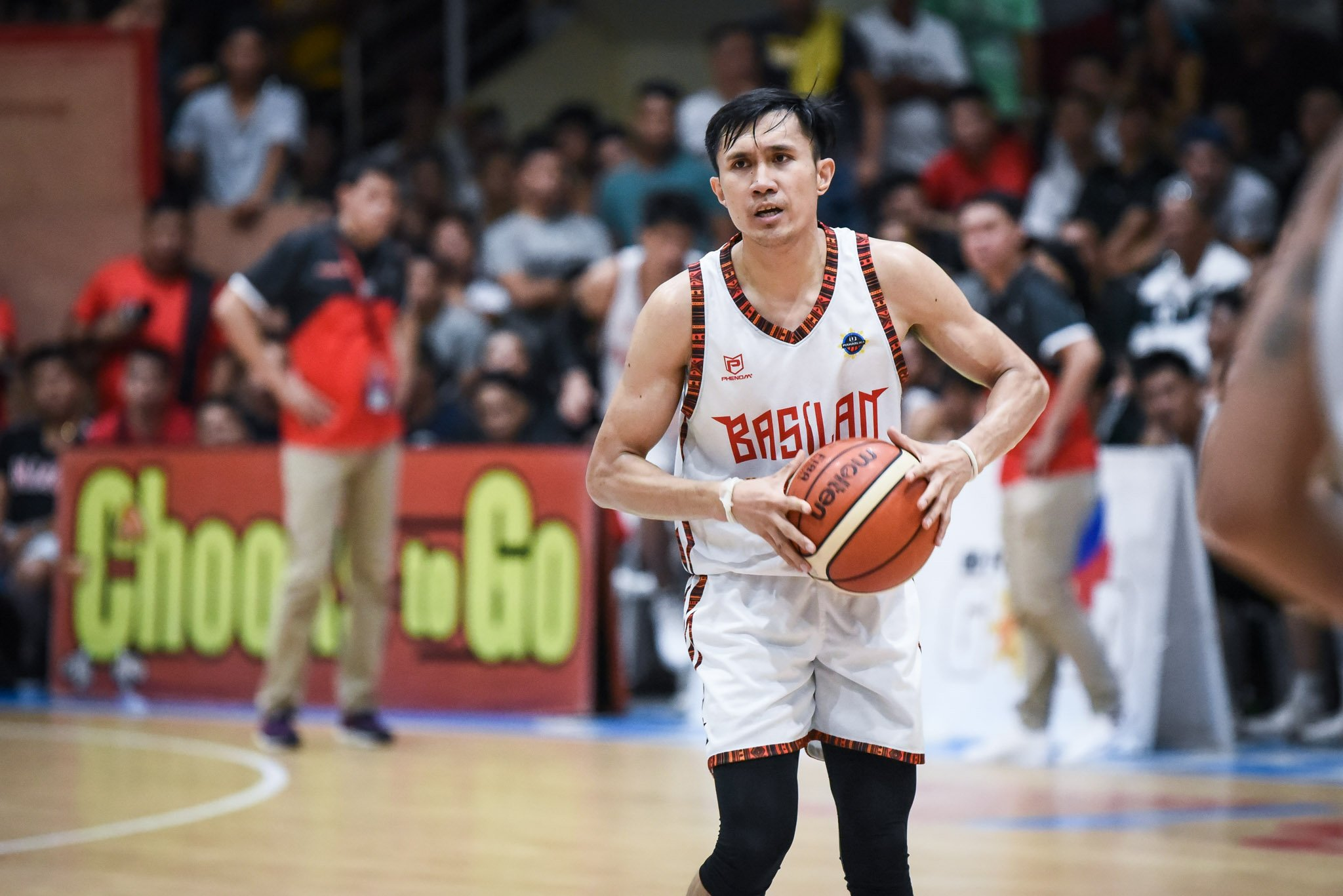 Tiebreaker Times Hesed Gabo hard on self after Basilan's Game Two loss Basketball MPBL News  Leo Gabo Basilan Steel 2019-20 MPBL Lakan Cup