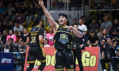 Tiebreaker Times Mark Montuano embraces pressure of filling Gab Banal's production Basketball MPBL News  Mark Montuano Chris Gavina Bacoor Strikers 2019-20 MPBL Lakan Cup