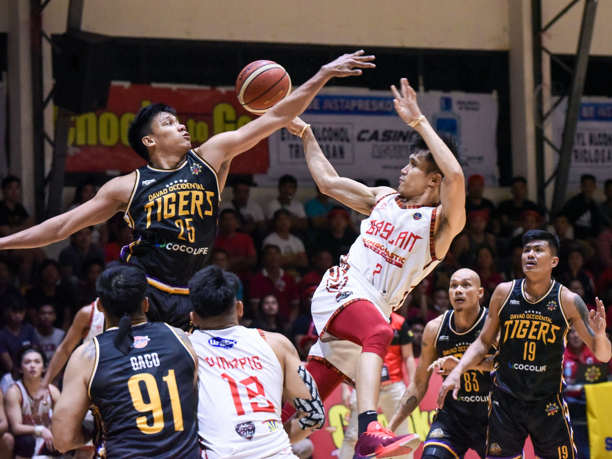 Tiebreaker Times Hesed Gabo goes from zero to hero for Basilan Steel Basketball MPBL News  Leo Gabo Jerson Cabiltes Basilan Steel 2019-20 MPBL Lakan Cup