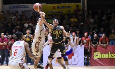 Tiebreaker Times Collado's clutch swat completes Basilan's conquest of Davao Occi in MPBL South Finals Basketball MPBL News  Mark Yee Jhaps Bautista Jessie Collado Jerwin Gaco Jerson Cabiltes Don Dulay Davao Occidental Tigers Bobby Bulacanag Billy Ray Robles Basilan Steel Allyn Bulanadi 2019-20 MPBL Lakan Cup