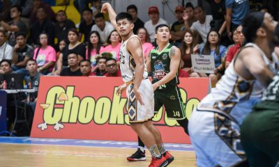 Tiebreaker Times Kenneth Mocon shows Davao Occidental that he is more than just a defender Basketball MPBL News  Kenneth Mocon Don Dulay Davao Occidental Tigers 2019-20 MPBL Lakan Cup
