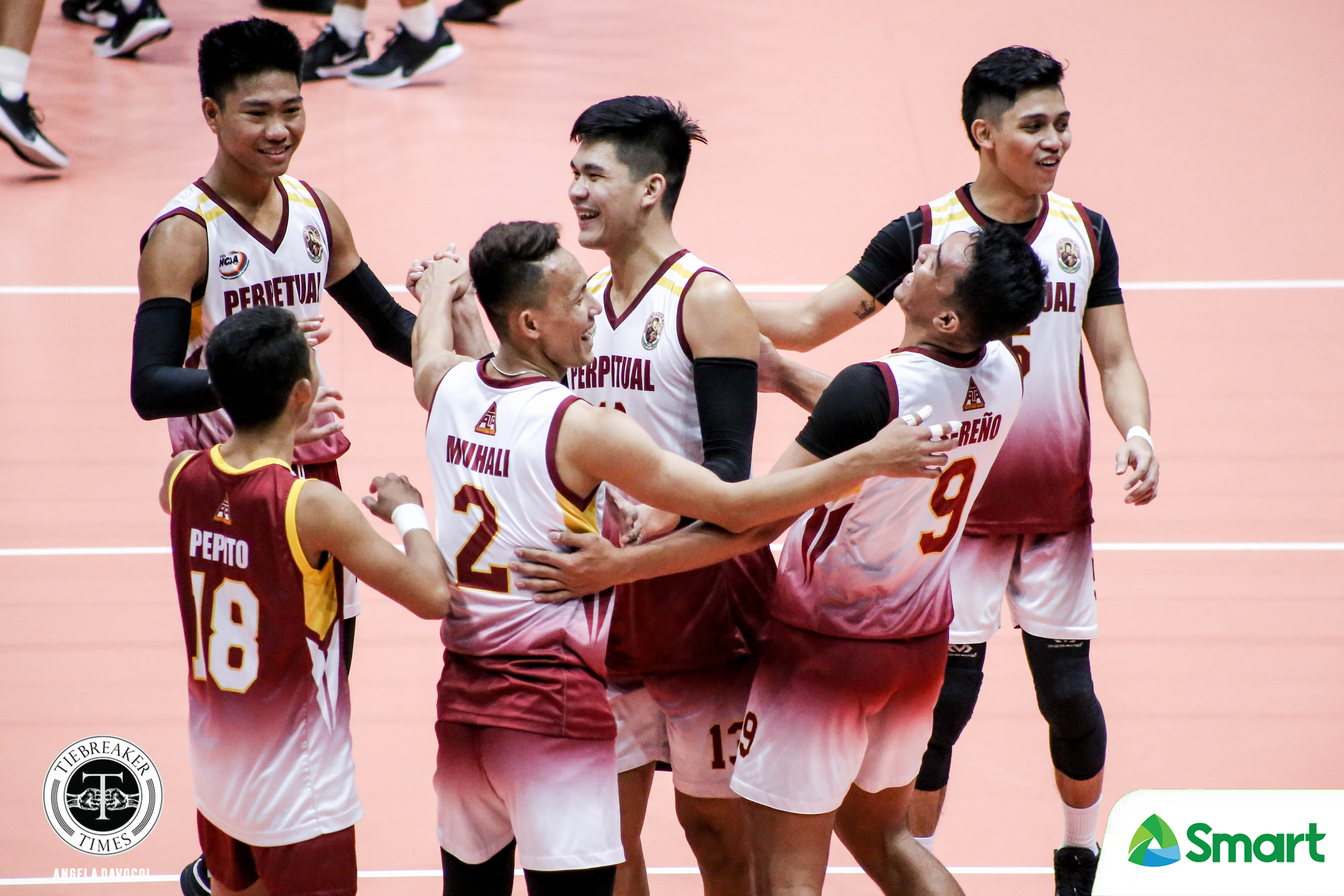 Tiebreaker Times Perpetual Altas feel more grateful than disappointed as NCAA three-peat bid cut short NCAA News UPHSD Volleyball  Sammy Acaylar Perpetual Men's Volleyball NCAA Season 95 Men's Volleyball NCAA Season 95
