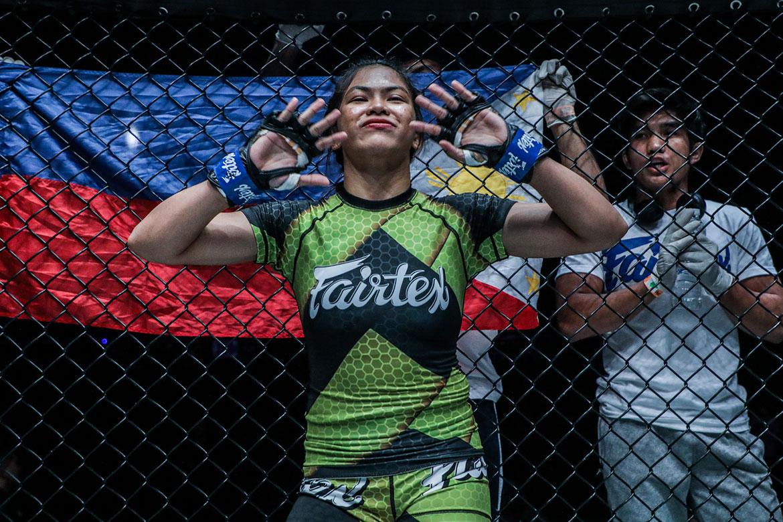 Tiebreaker Times With World Title shot in the bag, Denice Zamboanga hopeful for Manila debut Mixed Martial Arts News ONE Championship  ONE Infinity 2 Fairtex Denice Zamboanga