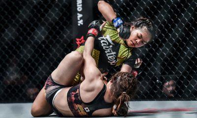 Tiebreaker Times Denice Zamboanga's journey from desk job to world title contention Mixed Martial Arts News ONE Championship  Fairtex Denice Zamboanga