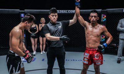 Tiebreaker Times Honorio Banario plans to keep momentum going after big win over Wiratchai Mixed Martial Arts News ONE Championship  Team Lakay ONE: King of the Jungle Honorio Banario