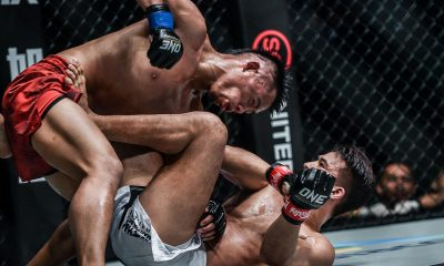 Tiebreaker Times Honorio Banario favored grappling vs Wiratchai -- and it worked wonders Mixed Martial Arts News ONE Championship  Team Lakay ONE: King of the Jungle Mark Sangiao Honorio Banario