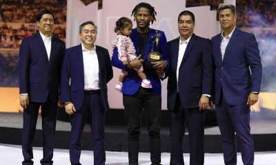 Tiebreaker Times CJ Perez on winning ROY: 'Nadadagdagan 'yung gutom ko' Basketball News PBA  PBA Season 44 CJ Perez 2019 PBA Leo Awards