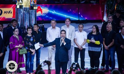 Tiebreaker Times PBA honors 'Original Nine' to open 45th season Basketball News PBA  Yoyong Martirez U/Tex Weavers Turo Valenzona Toyota Comets Tanduay Rhum Masters Seven-Up Uncolas Royal Tru-Orange (PBA) Presto Ice Cream Makers PBA Season 45 Orly Castelo Mariwasa-Noritake Lauro Mumar John Gokongwei Jr. Jimmy Mariano Gil Cortez Emerson Coseteng Crispa Redmanizers Concepcion Carrier Atoy Co