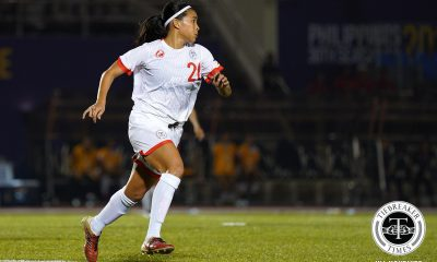 Tiebreaker Times La Salle's Alisha Del Campo named 'Pinay Futbolera of the Year' DLSU Football News Philippine Malditas  Pinay Futbol Philippine Women's National Football Team DLSU Women's Football Alisha Del Campo