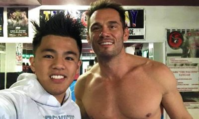 Tiebreaker Times OWS CEO Rich Franklin sees great things from Jhanlo Sangiao Mixed Martial Arts News ONE Championship  Rich Franklin ONE Warrior Series Jhanlo Sangiao