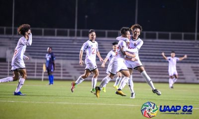 Tiebreaker Times Macaraig brace propels UE past Adamson in five-goal UAAP 82 thriller AdU Football News UAAP UE  Zacchaeus Suarez UE Men's Football UAAP Season 82 Men's Football UAAP Season 82 Nikko Palacio Joshua Macaraig Fitch Arboleda Bryce Rabino Arnulfo Villanueva Adamson Men's Football