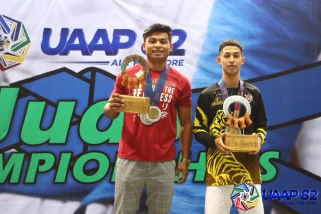 UAAP-82-MEN'S-JUDO-AWARDING-ROY-MVP-Ferrer-Ligero Rookie Ligero, senior Lorenzo lift UST to UAAP Judo four-peat ADMU Judo News UAAP UP UST  - philippine sports news