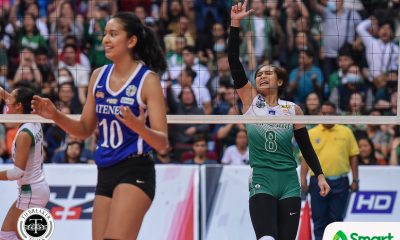 Tiebreaker Times Jolina Dela Cruz more than a scorer, takes share of leadership role in La Salle DLSU News UAAP Volleyball  UAAP Season 82 Women's Volleyball UAAP Season 82 Jolina Dela Cruz DLSU Women's Volleyball