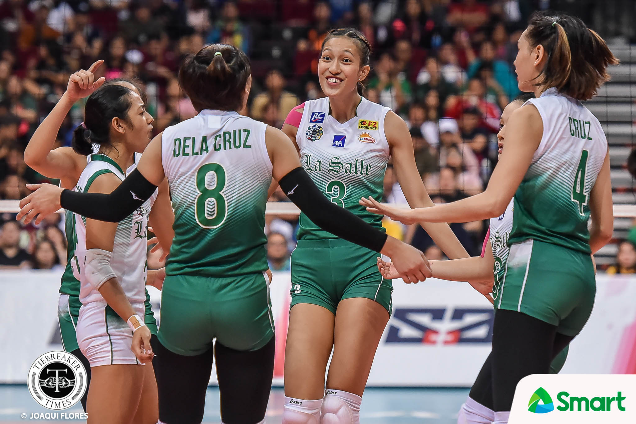 Tiebreaker Times Ateneo-La Salle rivalry heightens tension of NSNU Lady Bullpups reunion ADMU DLSU News UAAP Volleyball  UAAP Season 82 Women's Volleyball UAAP Season 82 thea gagate Roma Mae Doromal Faith Nisperos DLSU Women's Volleyball Ateneo Women's Volleyball