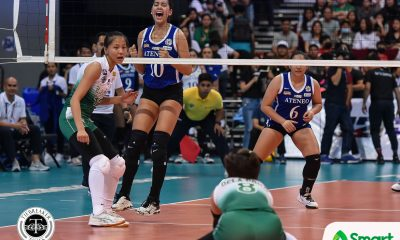 Tiebreaker Times Lackadaisical performance vs La Salle a learning curve for Kat Tolentino DLSU News UAAP Volleyball  UAAP Season 82 Women's Volleyball UAAP Season 82 Kat Tolentino Ateneo Women's Volleyball