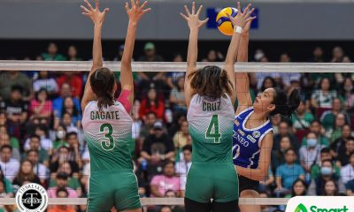 Tiebreaker Times Kat Tolentino bids Ateneo final farewell ADMU News UAAP Volleyball  UAAP Season 82 Women's Volleyball UAAP Season 82 Kat Tolentino Ateneo Women's Volleyball